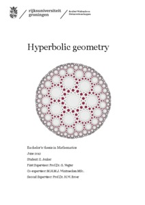Hyperbolic Geometry: Four similarities, one big difference